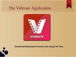 Vidmate app songs download